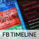 Whatever Party Facebook Timeline Cover - GraphicRiver Item for Sale