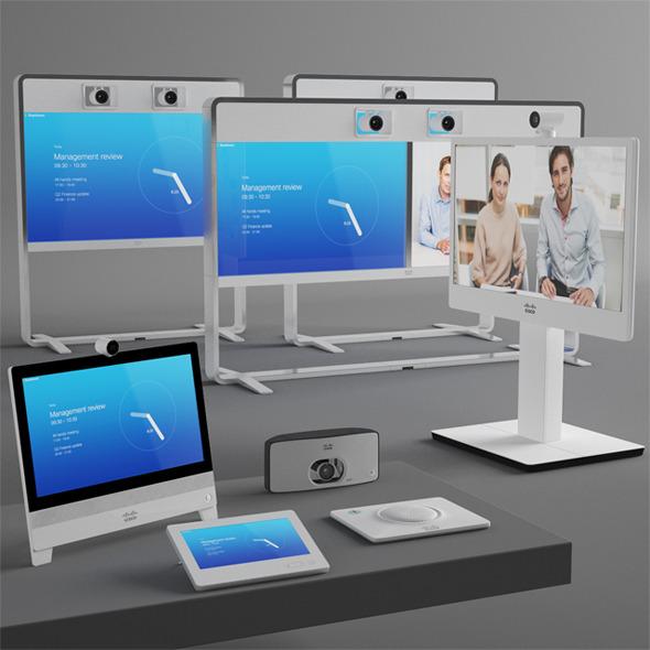 Cisco Videoconferencing System - 3DOcean Item for Sale