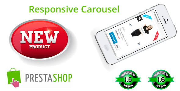 Responsive New Product Carousel for Prestashop - CodeCanyon Item for Sale