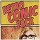 Retro Comic Pack - GraphicRiver Item for Sale