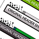 Original Header Shape 98 - GraphicRiver Item for Sale