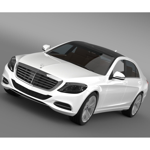 Mercedes Benz S 300 BlueTec Hybrid W222 2014 - 3DOcean Item for Sale