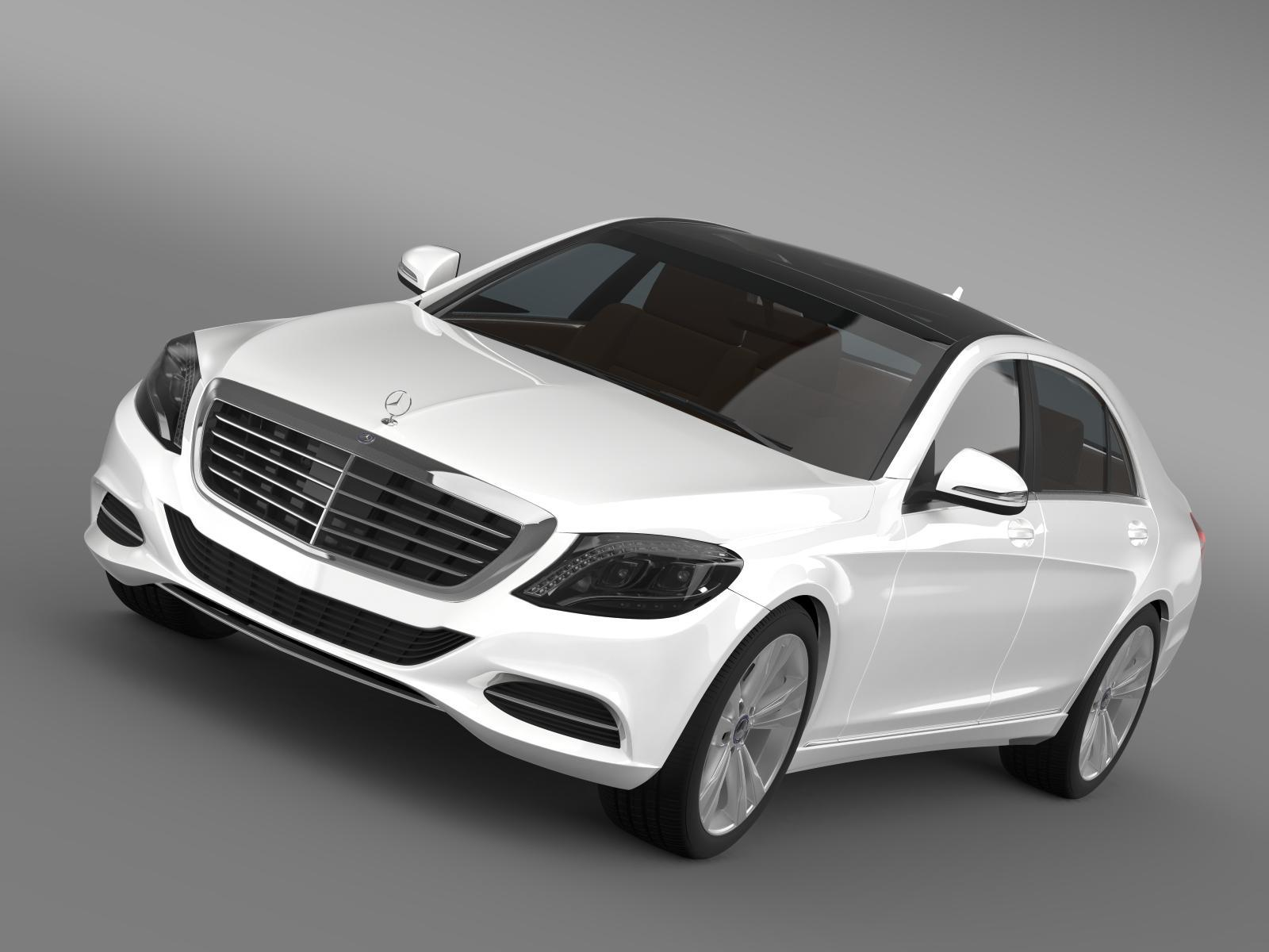 Mercedes benz s 350 bluetec w222 2013 by creator 3d 3docean for Mercedes benz s 350 bluetec