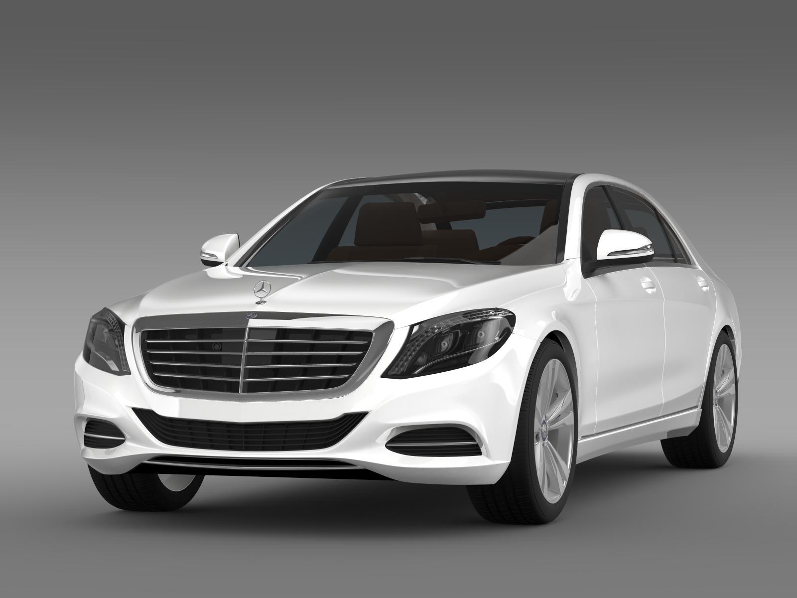 mercedes benz s 350 bluetec w222 2013 by creator 3d 3docean