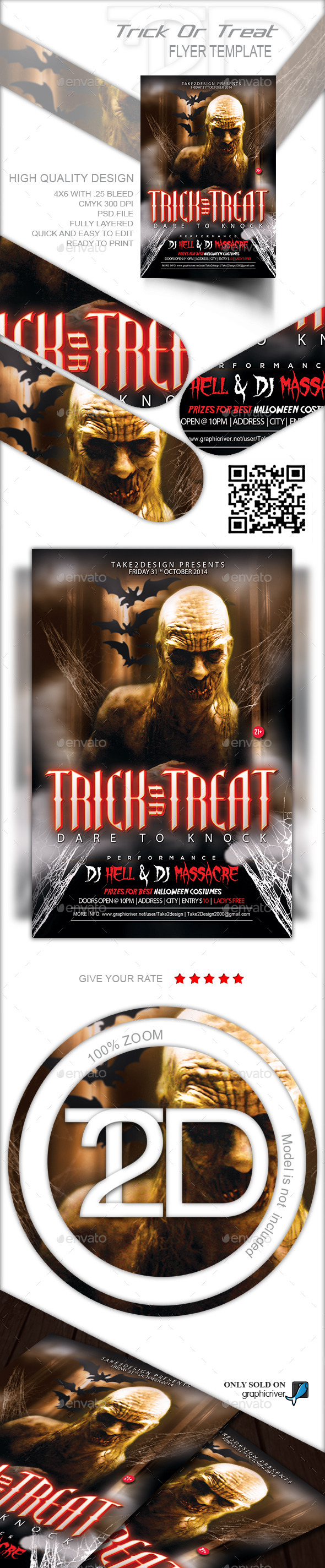 Trick Or Treat - Clubs & Parties Events