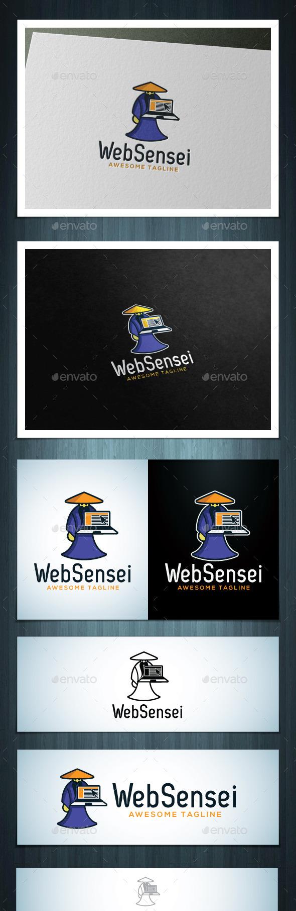 Web Sensei - Vector Abstract