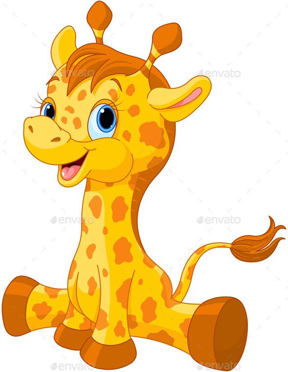 Girafe Calf - Animals Characters