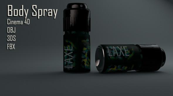 Body Spray - 3DOcean Item for Sale