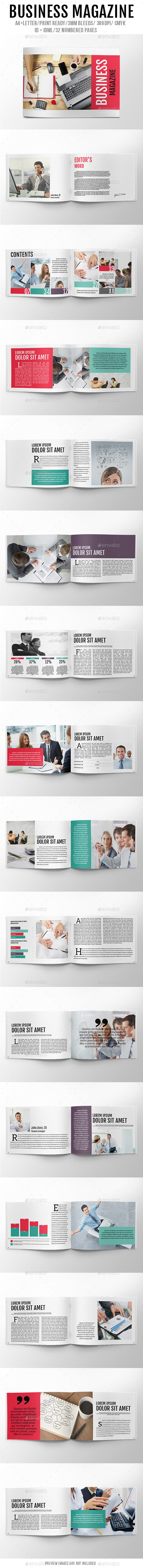 Business Magazine - Magazines Print Templates
