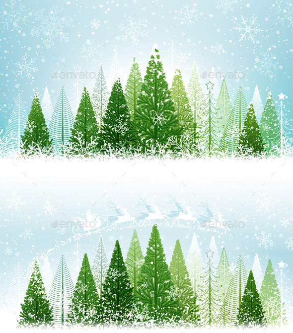 Winter Forest - Christmas Seasons/Holidays