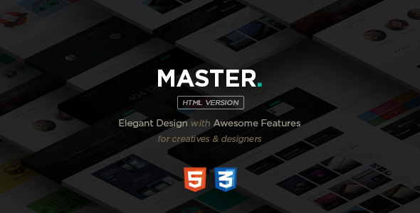 MASTER – Corporate Multipurpose HTML Template