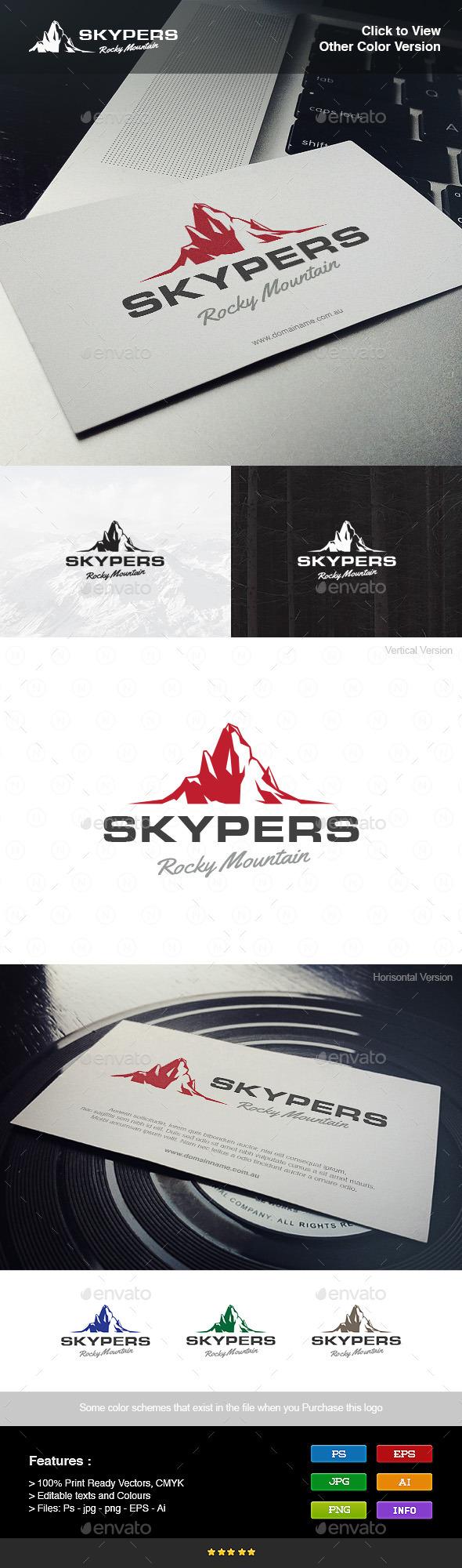 Rocky Mountain - Objects Logo Templates