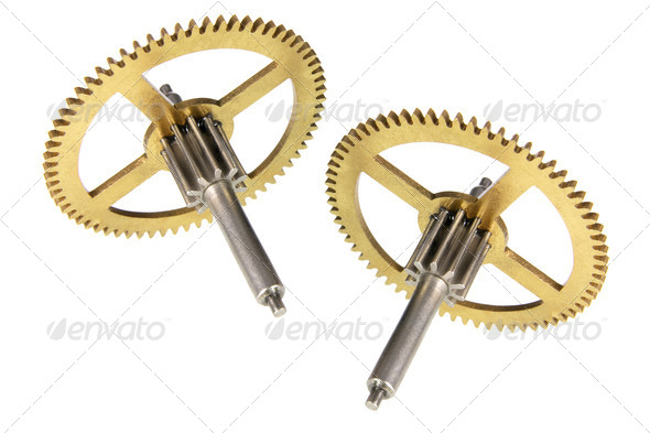 Gear Wheels - Stock Photo - Images