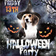 Halloween Party for Animal Charity - GraphicRiver Item for Sale