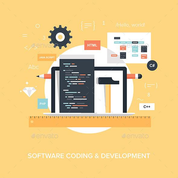 Program Coding. - Technology Conceptual