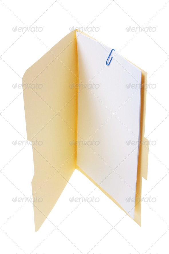 Folder - Stock Photo - Images