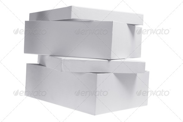 Cardboard Boxes - Stock Photo - Images