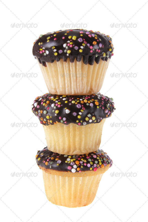 Cup Cakes - Stock Photo - Images