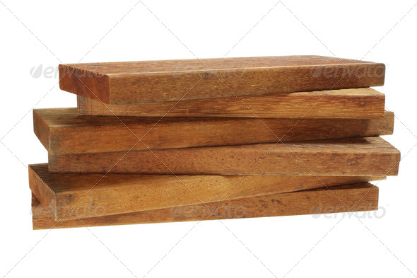 Stack of Wood - Stock Photo - Images
