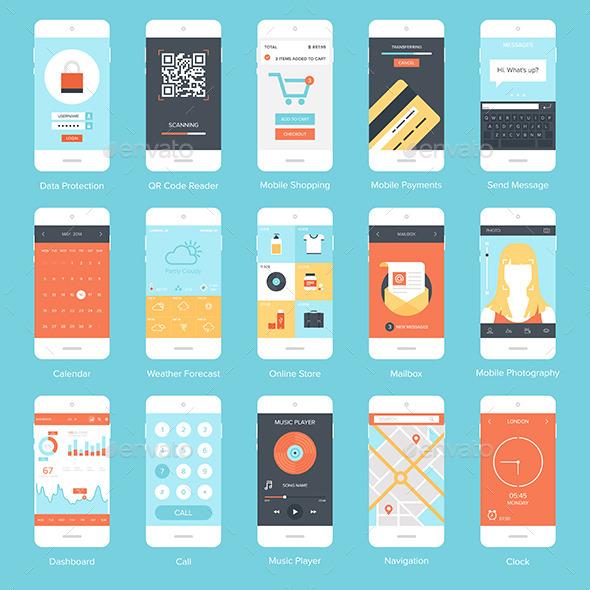 Mobile UI. - Media Technology