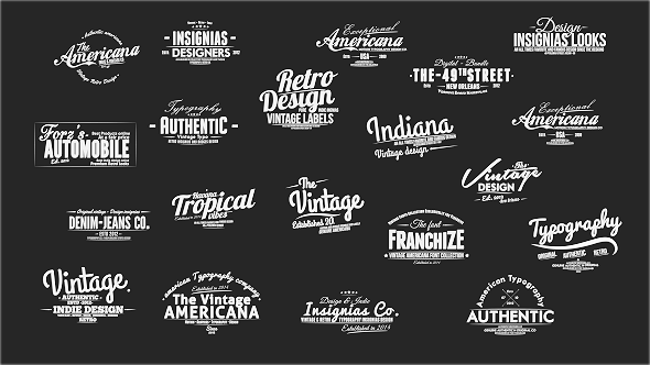 Vintage Slideshow Titles Pack By XFxDesigns