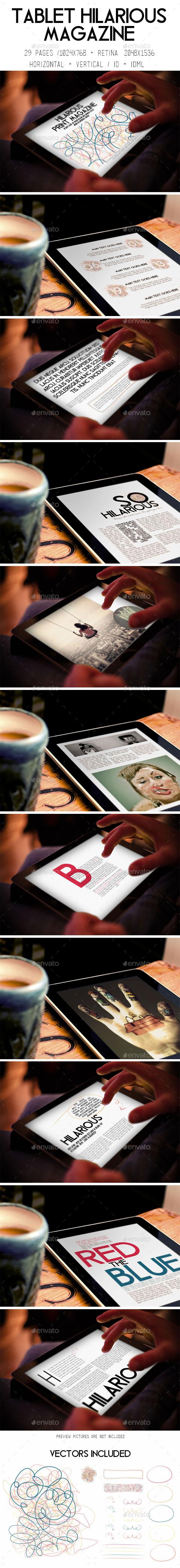 iPad & Tablet Hilarious Magazine - Digital Magazines ePublishing