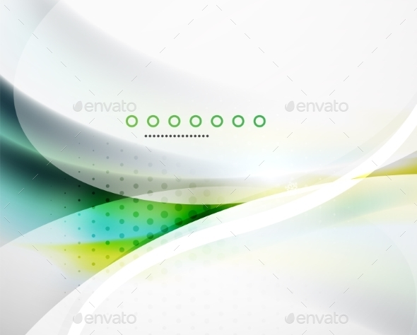 Business Flowing Wave - Backgrounds Business