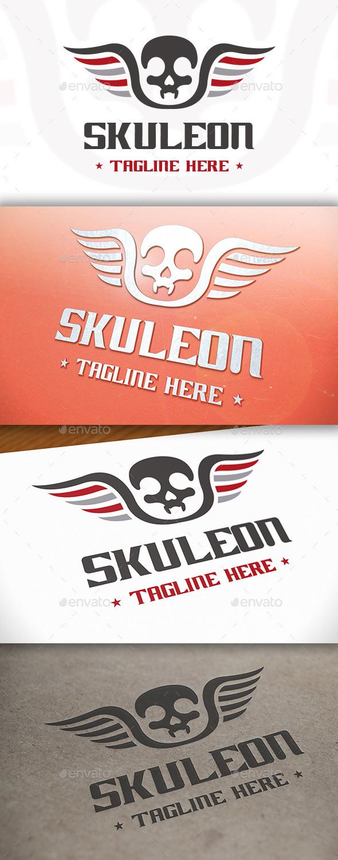 Skull Logo Template - Symbols Logo Templates