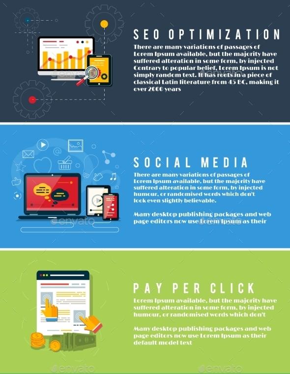 Seo Marketing, Pay Per Click, Social Media - Web Technology