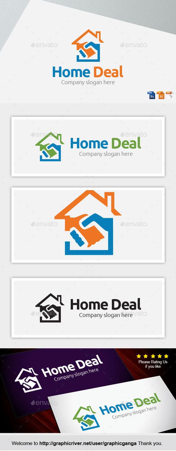 Home Deal - Buildings Logo Templates