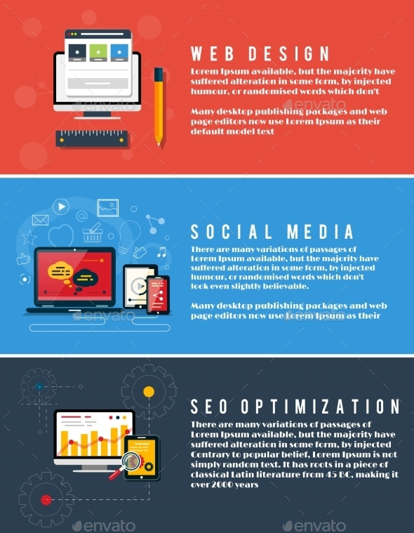 Seo Optimization, Web Design, Social Media - Web Technology