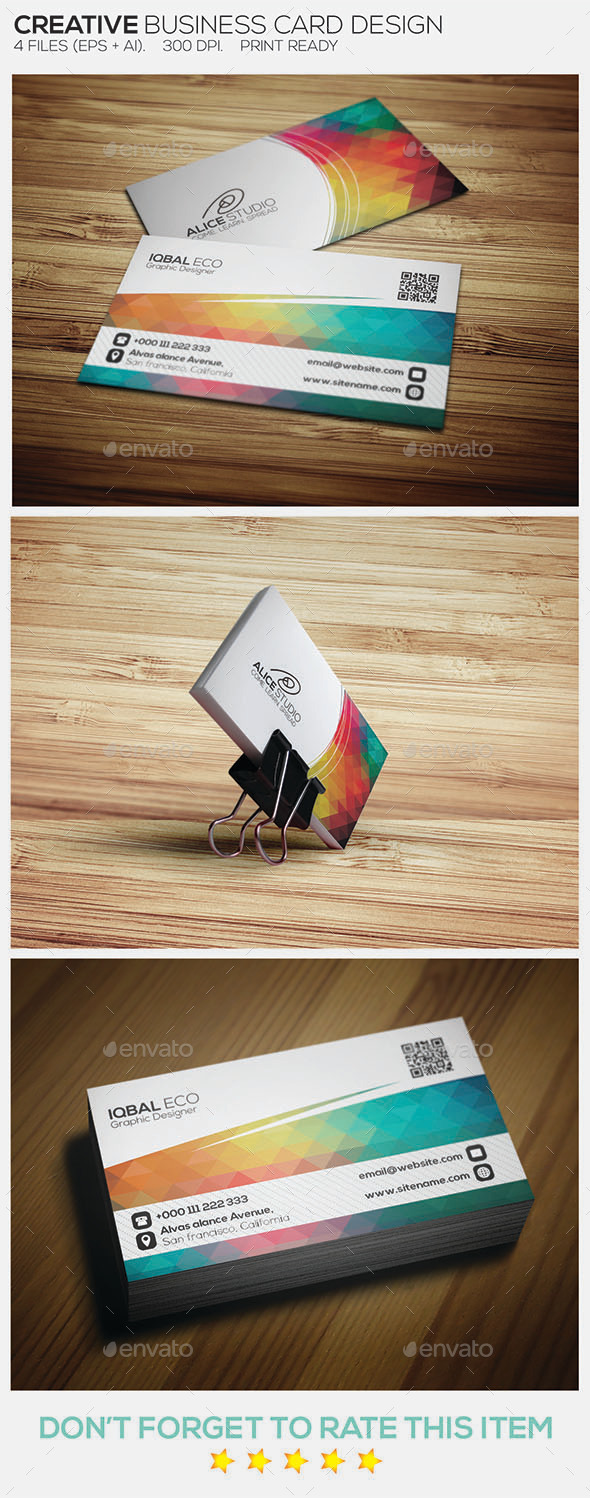 Creative Business Card Design - Creative Business Cards