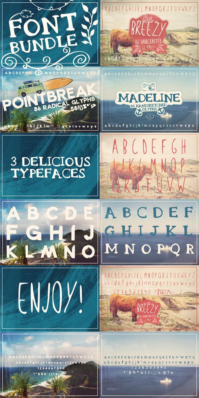 Layerform Font Bundle  - Decorative Fonts