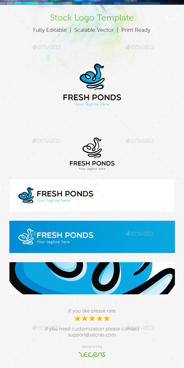 Fresh Ponds Stock Logo Template  - Animals Logo Templates