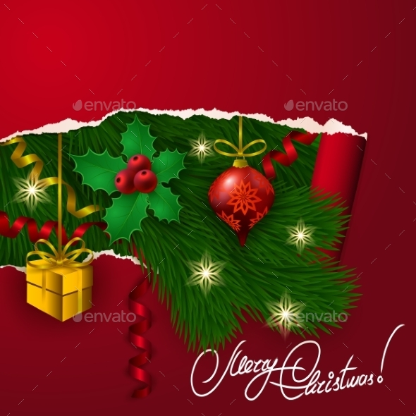 Vector Christmas Background - Miscellaneous Seasons/Holidays