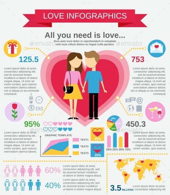 Love Infographic Set - Infographics