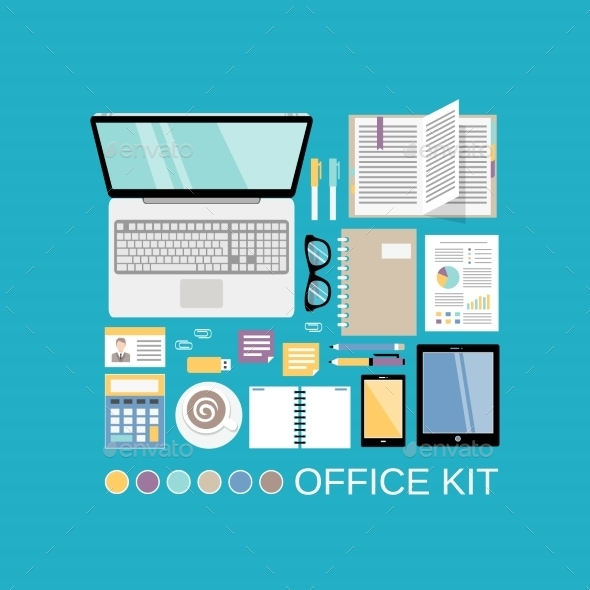 Office Kit Decorative - Concepts Business