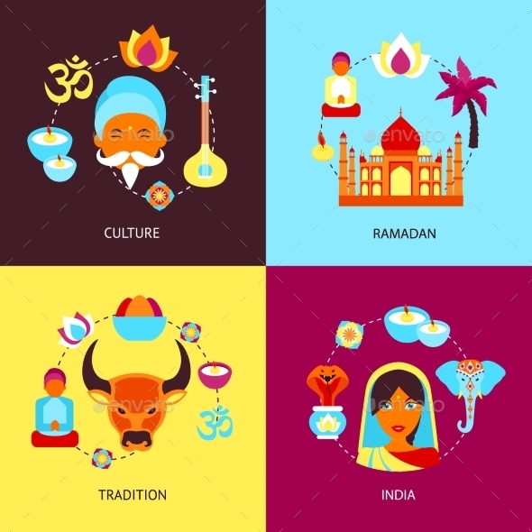 India Flat Set - Concepts Business