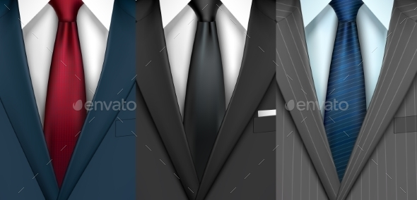 Businessman Suit Set - Concepts Business