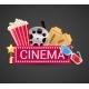Cinema Icons Concept - GraphicRiver Item for Sale