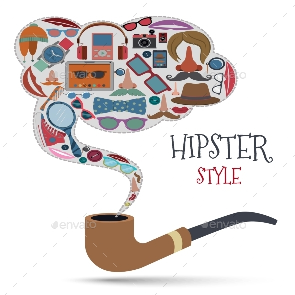 Hipster Style Concept - Miscellaneous Conceptual