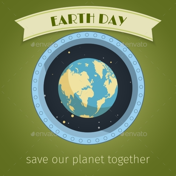 Earth Day Poster - Miscellaneous Vectors