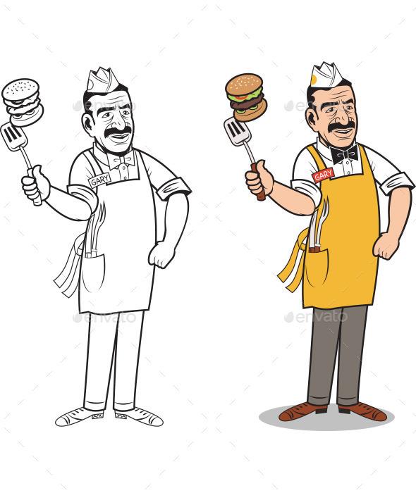Big Gary - People Characters