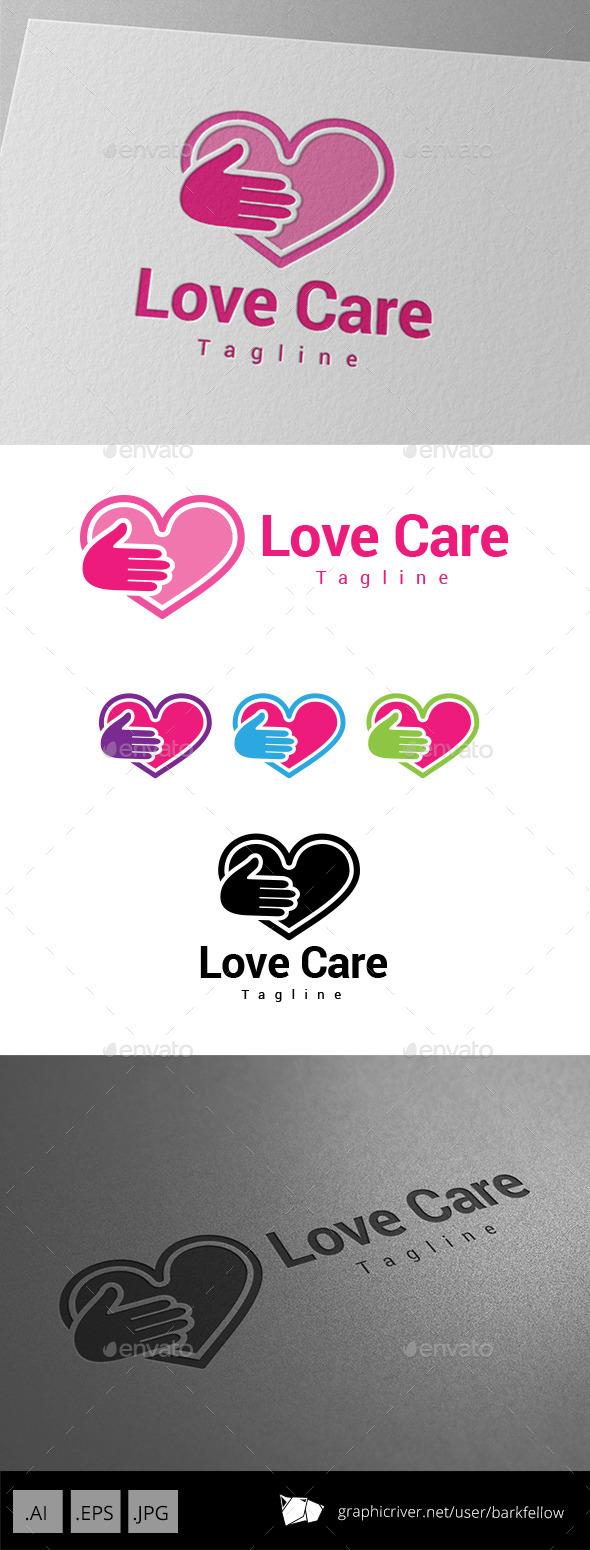 Love Care Logo - Symbols Logo Templates