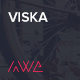 Viska - Creative One Page WordPress Theme