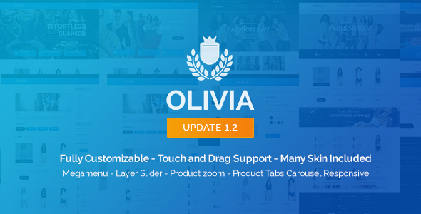 Olivia - Opencart Responsive Theme - Shopping OpenCart