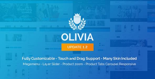 Olivia – Opencart Responsive Theme