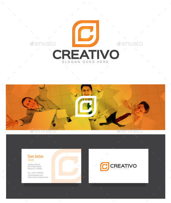 Creativo - Letter C Logo - Letters Logo Templates