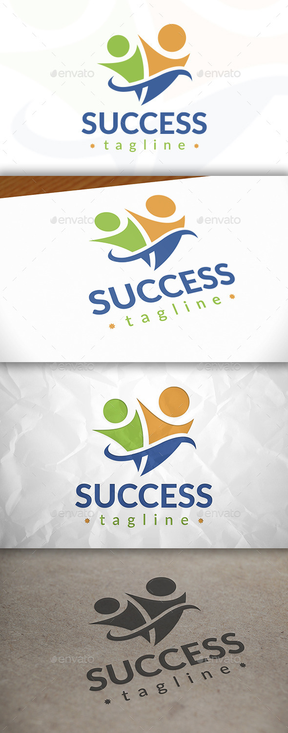 Success People Logo - Humans Logo Templates
