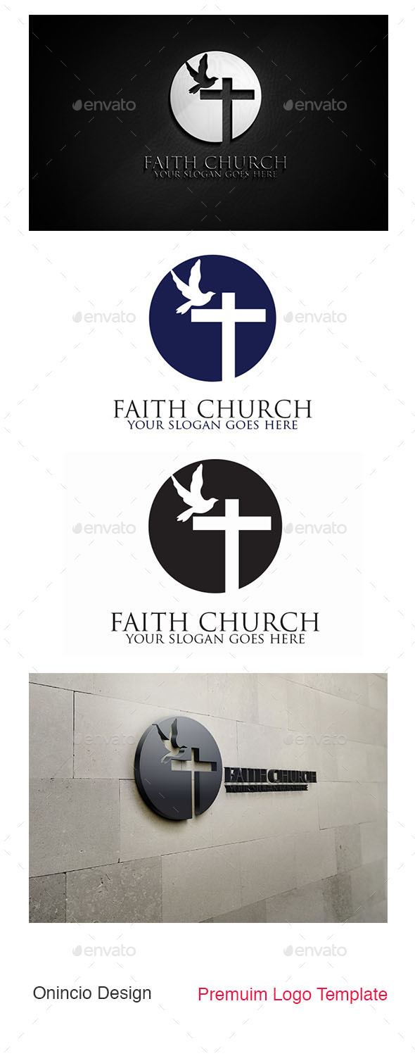 Faith Church Logo - Symbols Logo Templates